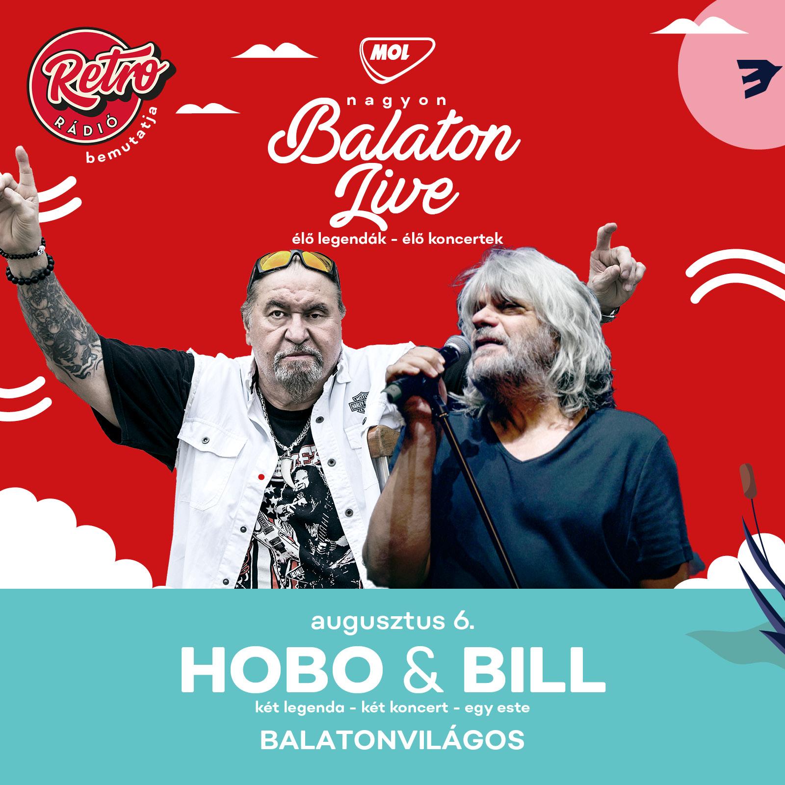 Hobo & Deák Bill Gyula